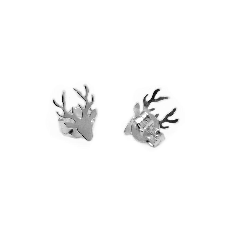 pendientes de plata renos