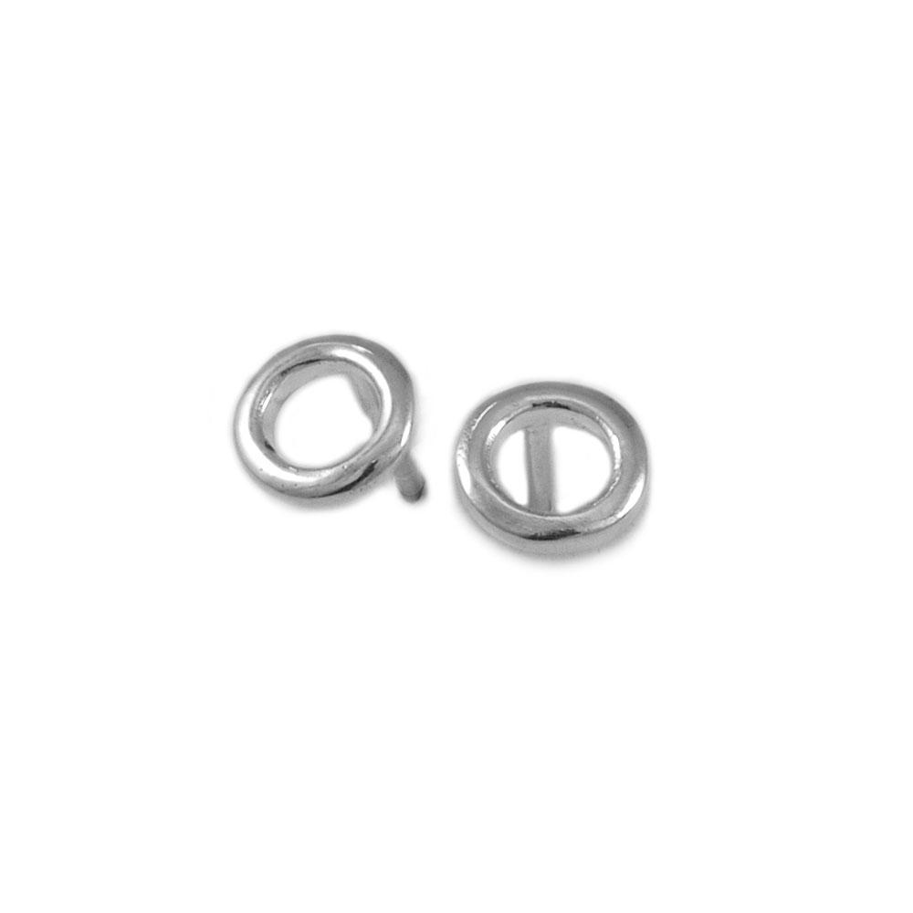 Pendientes círculos plata-Conldelola