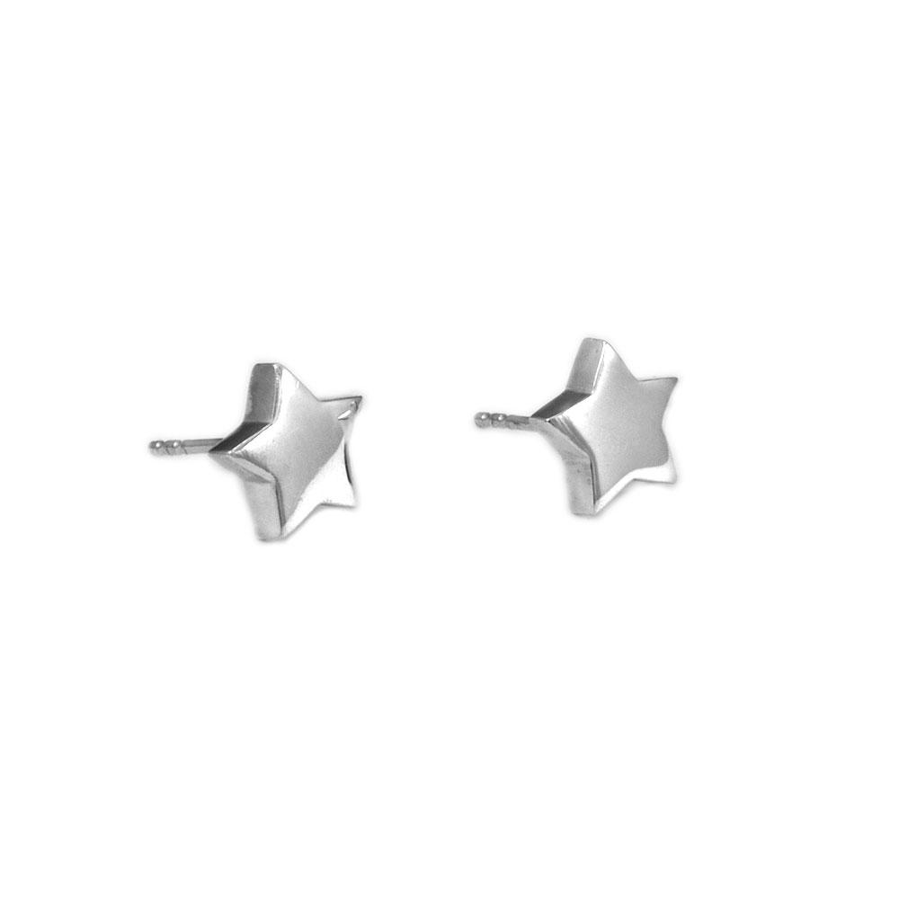 Pendientes estrella plata-Conldelola